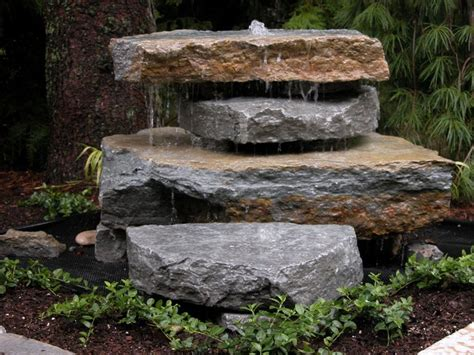 Rock Garden With Water Feature Best 10 Rock Ideas On