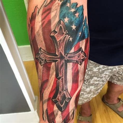 coolest cross army flag and 50 best design ideas