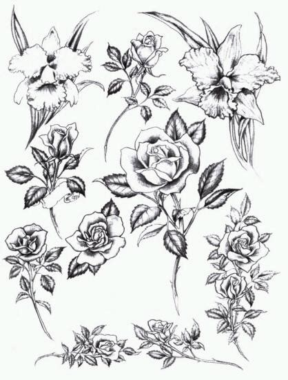 tattoo demon tattoo flash show php id flowers