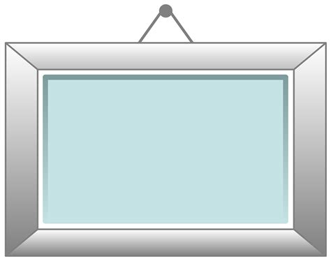 hanging picture free vector graphic wall wooden frame hanging free