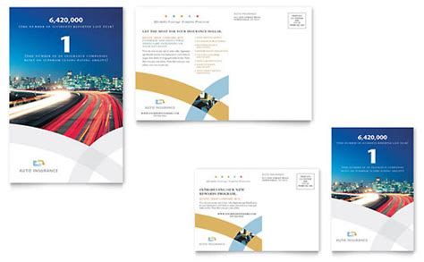 insurance brochure template car insurance company brochure template design