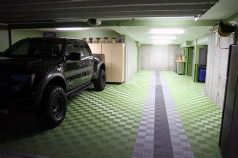 50 garage paint ideas for masculine wall colors and themes