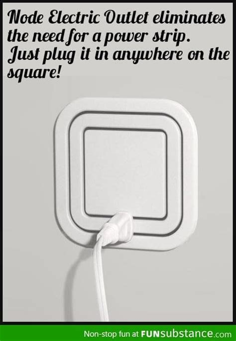 cool electrical outlets awesome gadget node electric outlet funsubstance