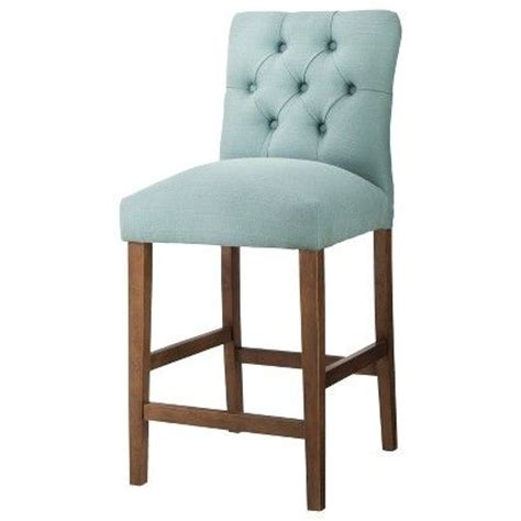 brookline tufted dining chair navy 94 99 sale target threshold brookline tufted 24 quot counter