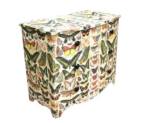 Butterfly Chest Of Drawers by Butterfly Chest Of Drawers By Bryonie Porter
