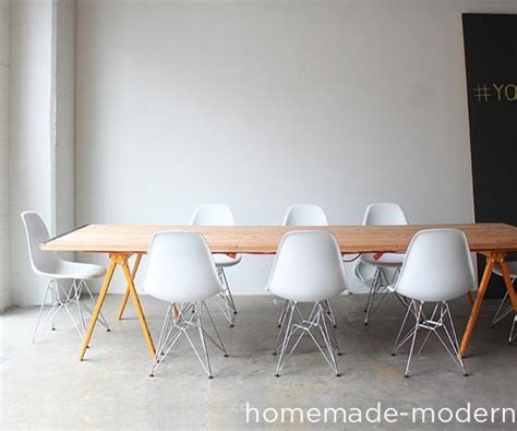 modern diy conference table