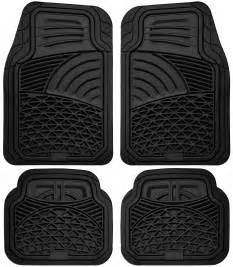 car floor mats for all weather rubber 4pc set tactical fit
