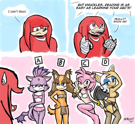 Knuckles Meme - time to learn to read knuckles sonic the hedgehog