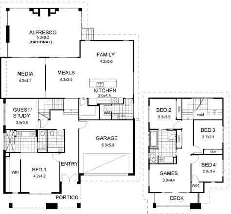 Split Bedroom House Plans floor plan friday split level modern