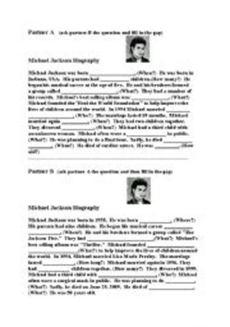 english worksheets michael jackson english teaching worksheets michael jackson