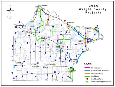 show road map seal coating begins on wright county roads dhj