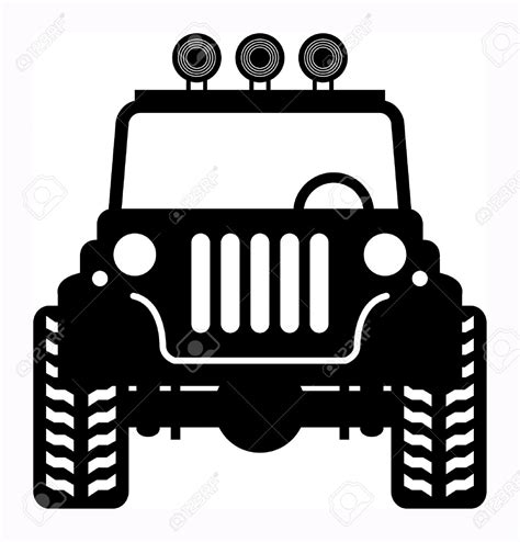 jeep silhouette jeep mud clip art vector cliparts