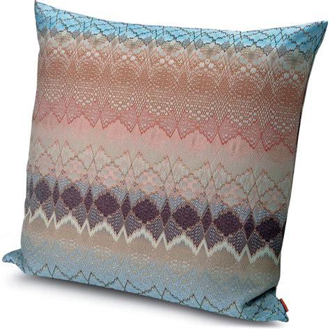 Missoni Pillow by Missoni Pillow Missoni Home Neutral Mascal Pillow