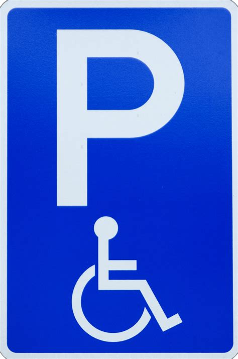 disabled parking sign free images at clker com vector