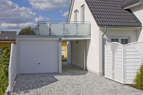 Garage Mit Terrasse Kosten 3662 by Einzelgarage Als Beton Fertiggarage