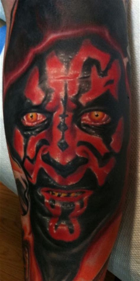 darth maul tattoo large image leave comment