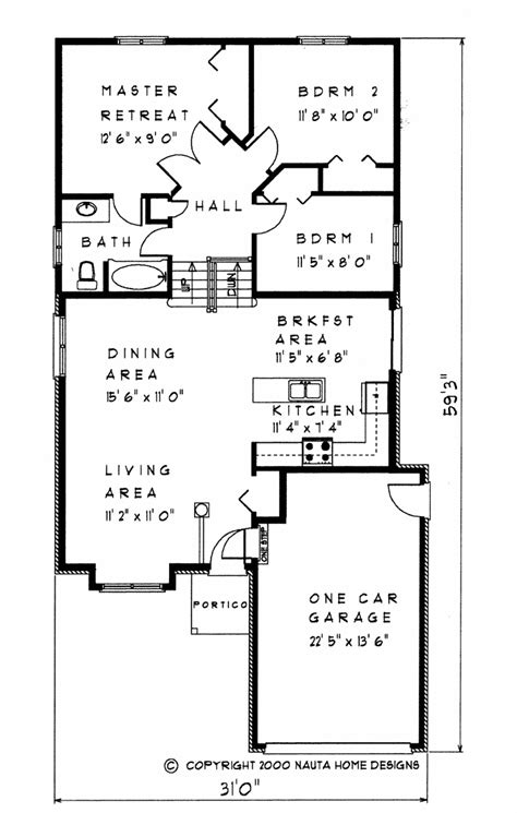 Back Split House Plans by 3 Bedroom Backsplit House Plan Bs113 1183 Sq