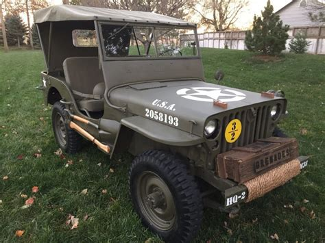 Cheap Jeep Parts For Sale Jeep 1952 Willys M38 For Sale