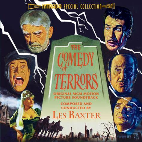 film comedy of terrors fsm board intrada comedy of terrors les baxter