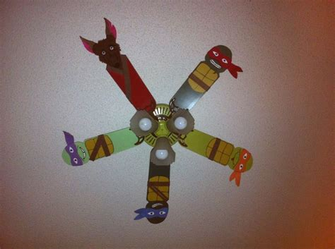 ceiling fan for boys bedroom ninja turtle ceiling fan boys bedroom pinterest this