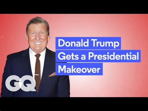 trump presidential makeover gq offers donald trump fashion advice through a much