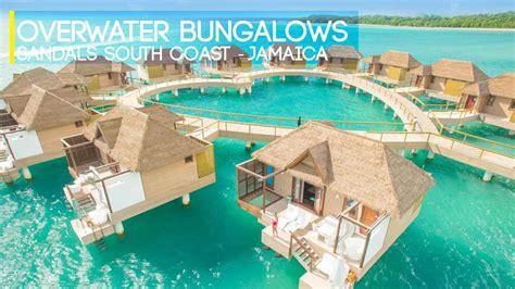 sandals overwater bungalows jamaica sandals overwater bangalow jamaica shaped