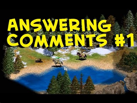 Answering Your Comments by Answering Comments 1