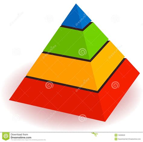 House Plans Free Hierarchy Of Pyramid Stock Vector Image Of Built
