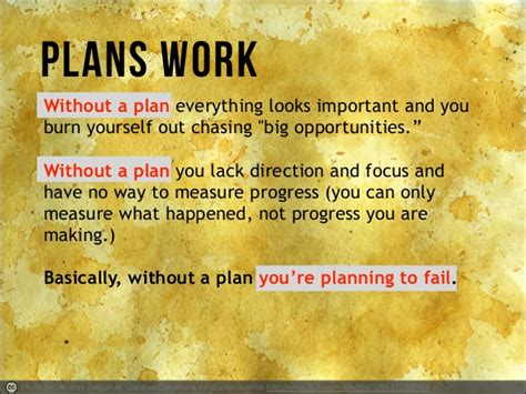 7 Reasons To Work For Yourself by Plans Work Without A Plan