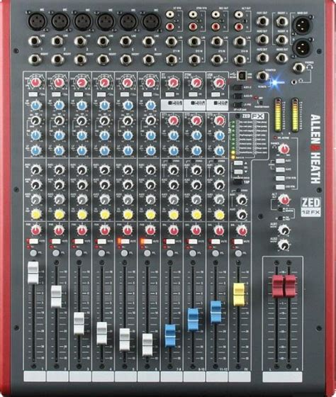 Mixer Allen Heath Zed 12 allen heath zed 12 into 2 mixer with built in efx and usb i o