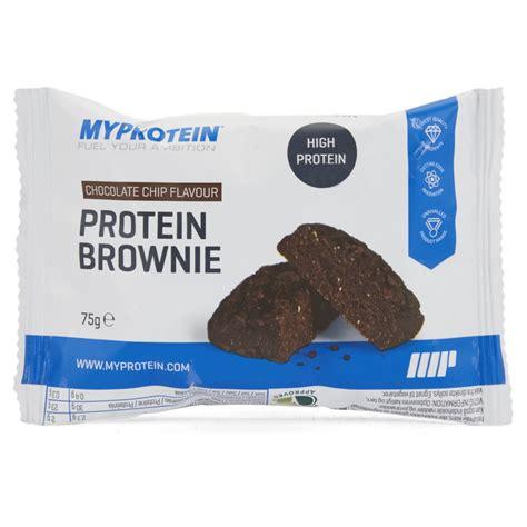 protein chocolate protein brownie myprotein