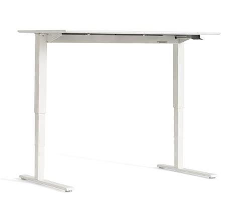 Humanscale Sit Stand Desk Humanscale 174 Sit Stand Desk White Base Pottery Barn