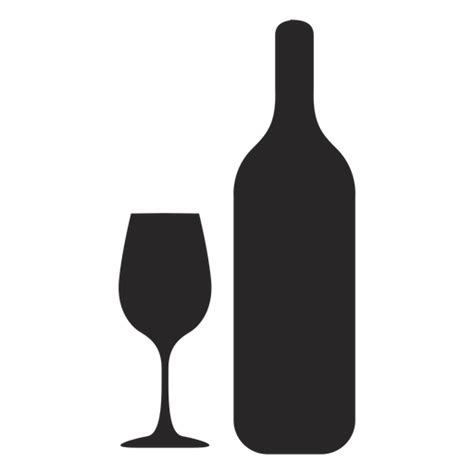 Free Online House Plans wine bottle glass silhouette transparent png amp svg vector