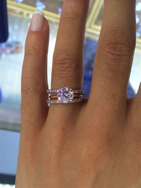 the most beautiful wedding rings asscher cut