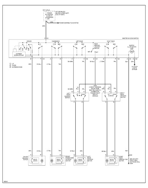 2005 cavalier window switch wiring diagram efcaviation