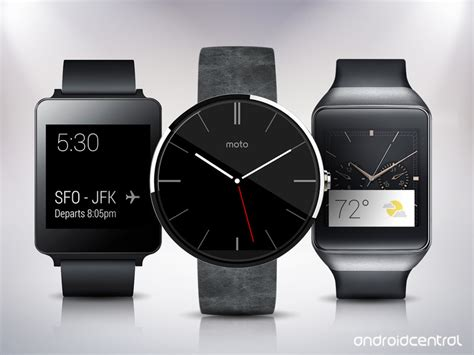 best android smartwatch these are the best android wear smartwatches android central