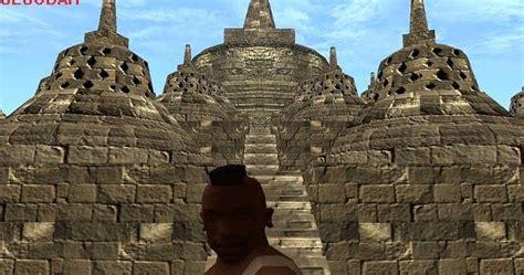 Tutorial Menggambar Candi Borobudur   candi borobudur new edition gtaind mod gta indonesia