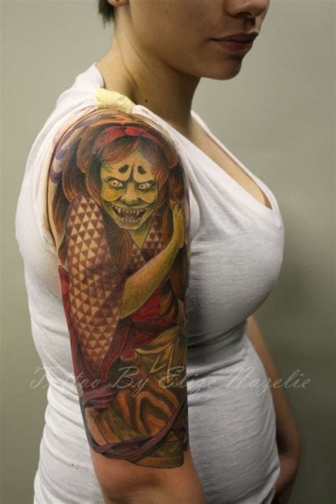25 captivating japanese sleeve tattoos creativefan