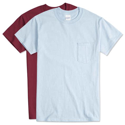 design t shirt gildan design custom printed gildan ultra cotton pocket t shirts