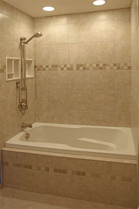 tile bathtub wall bathroom remodeling design ideas tile shower niches