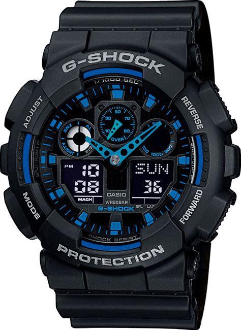 Casio Ga 100 1original casio g shock original ga 100 1a2er hodinky 365 cz