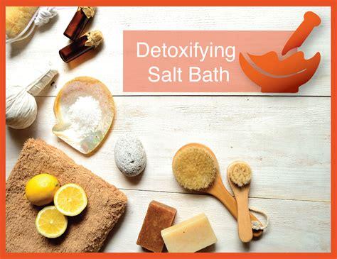 Epsom Salt Detox Recipe by Detox Salt Bath Recipe Stelkor Pharmacies
