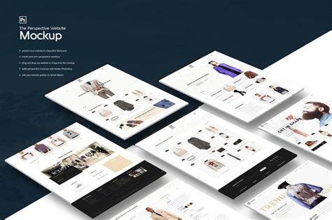 graphic design mockup site the perspective website mockup by kl webmedia on envato