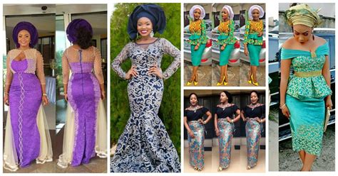 different kind of plum shoes on aso ebi bella naija latest lace and ankara aso ebi styles for you this week
