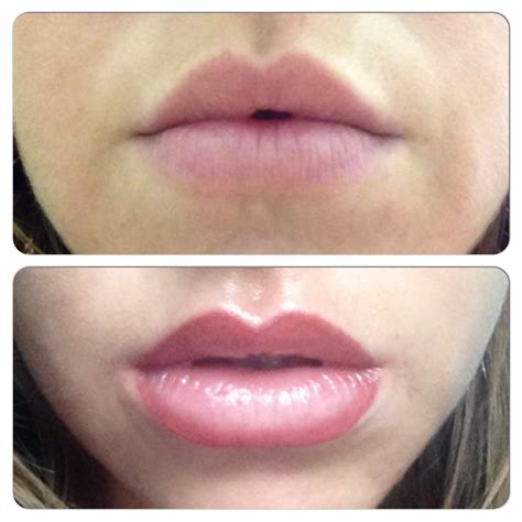 tattoo lips before and after lips