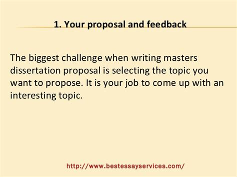 coming up with a dissertation topic how to prepare a masters dissertation