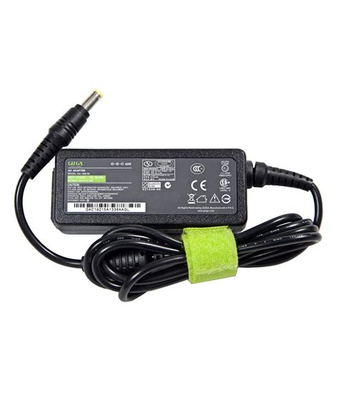 Adaptor Laptop Acer19v 2 15a gizga usa 40w yellow pin laptop power adapter charger