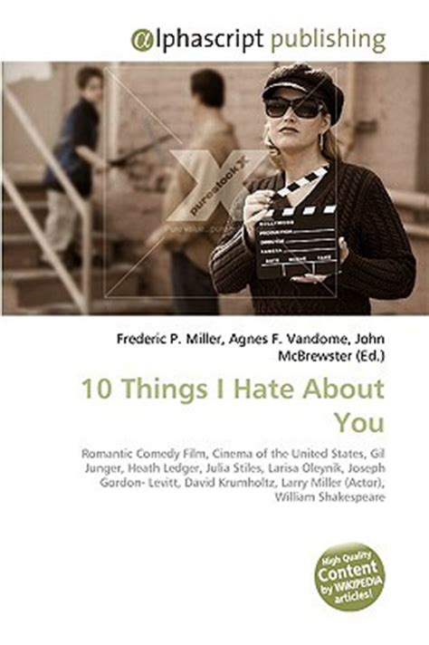 7 Things I Dislike About Reality Shows by 10 Things I About You By Frederic P Miller Reviews