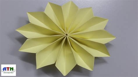 Origami Flower Poinsettia - how to fold poinsettia flower origami flower