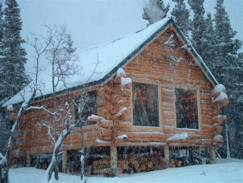 Remote Cabin Living by Alaska Winter Cabins Memes